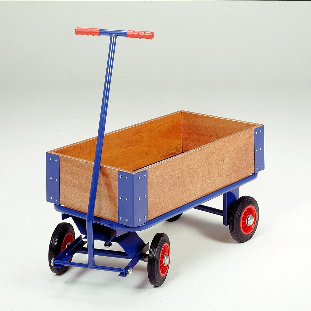 Wood sides, Turntable Truck