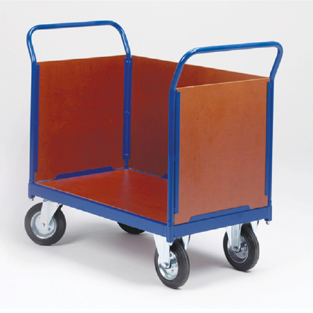 PLC408 - 3 Sided Platform Trolley