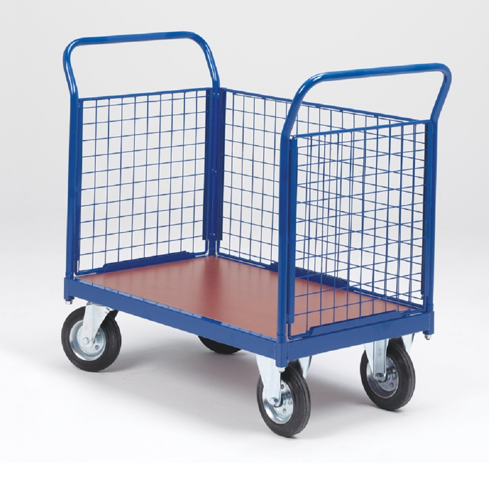 3 Sided, Platform Trolley