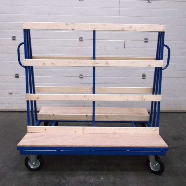 Large Double Sided Board Trolley